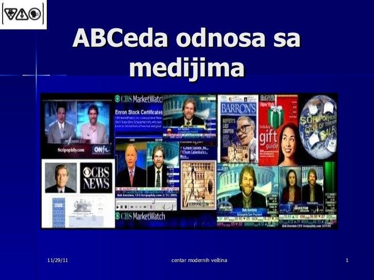 Odnosi sa medijima