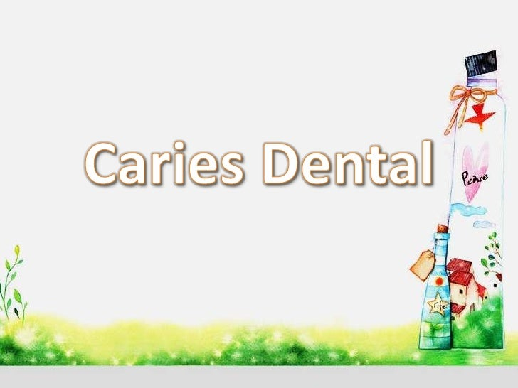 Odontopediatria caries