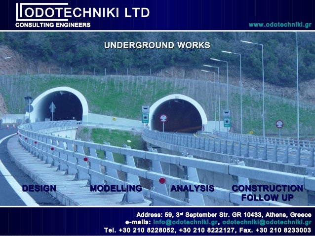 Odotechniki ltd underground works