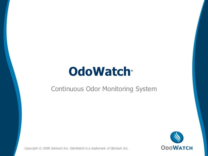 Continuous Odor Monitoring System OdoWatch ®