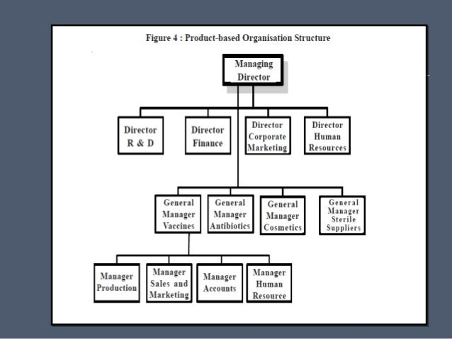 organizational structure of bmw company