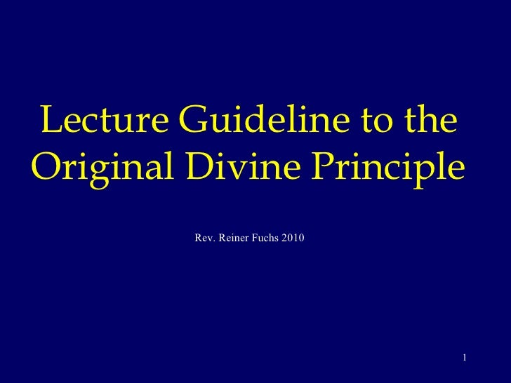 ODP Original Divine Principle WS revised v1 Finland