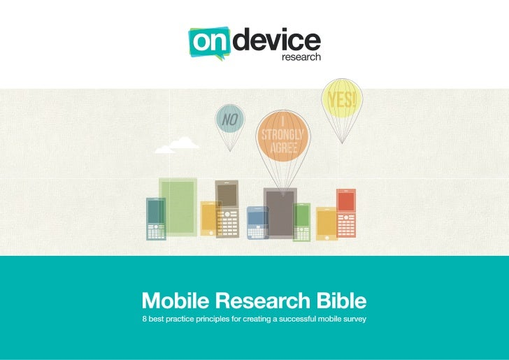At On Device Research, we use the mobile Internet to access consumer opinions, around the clock and across the globe. In j...