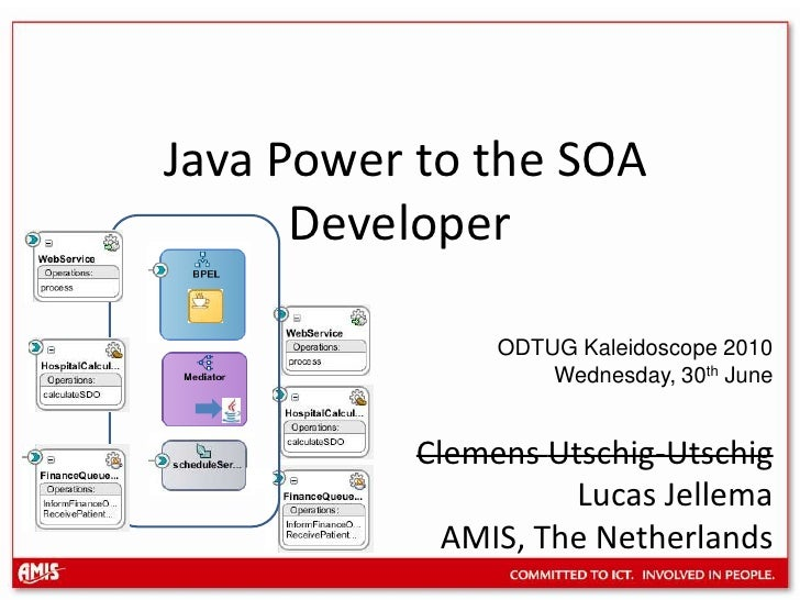 Java power to the SOA developer (ODTUG Kaleidoscope 2010)