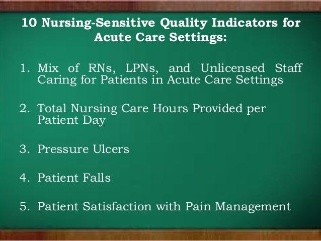 Nursing Quality