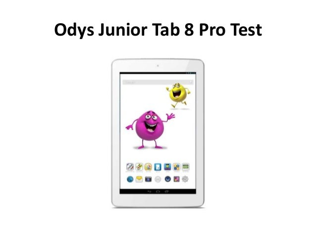 Odys Junior Tab 8 Pro Test