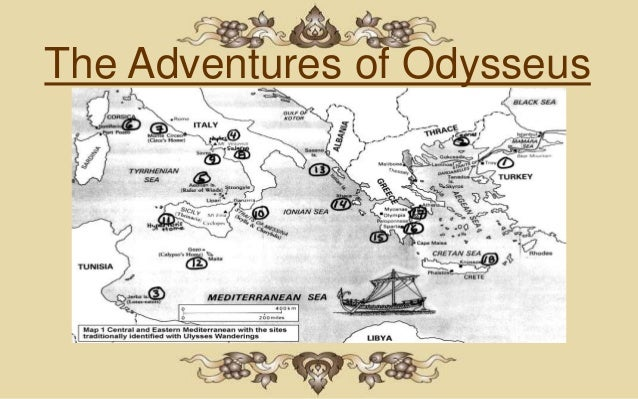 odysseus great adventure Use this geotour to follow odysseus and his crew as they encounter nymphs and  an adventure story attributed to the greek poet  the caribbean to great britain.
