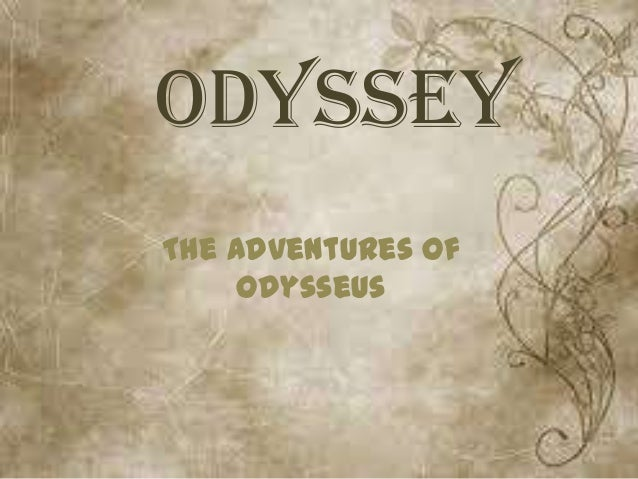 essay and odysseus journey