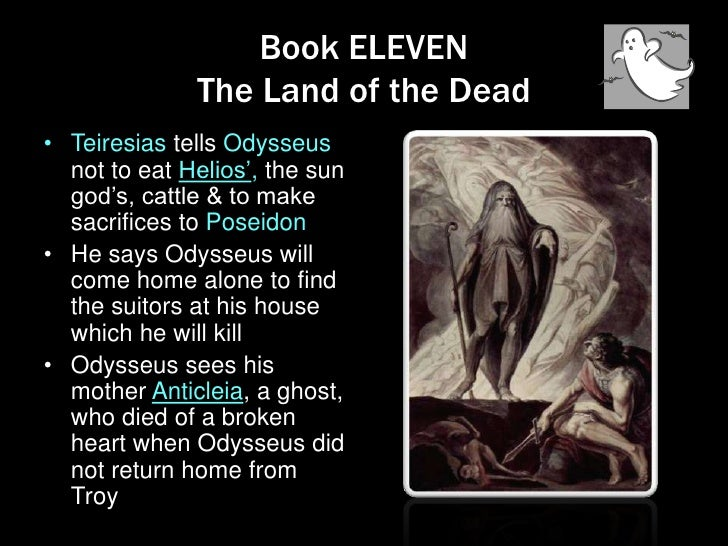 The land of the dead odyssey summary