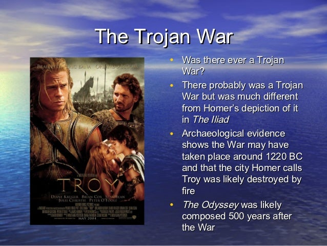 evidence of the trojan war essay Advent of the trojan war essay 544 words | 3 pages i disagree with this statement, there is evidence a trojan war or wars did happen.
