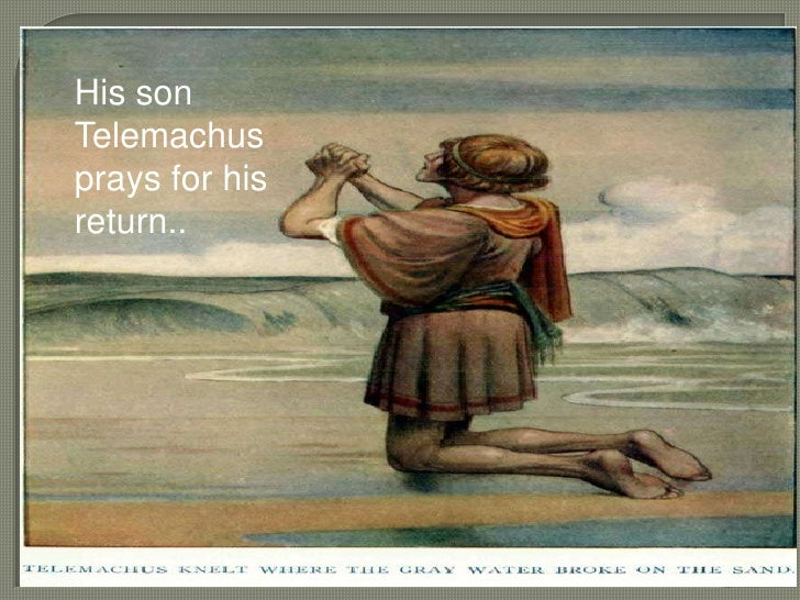 a description of the adventures of odysseus in his journey back to ithaca And advised odysseus and his son, telemachos to give a full account of  odysseus's adventures on his ten-year voyage.