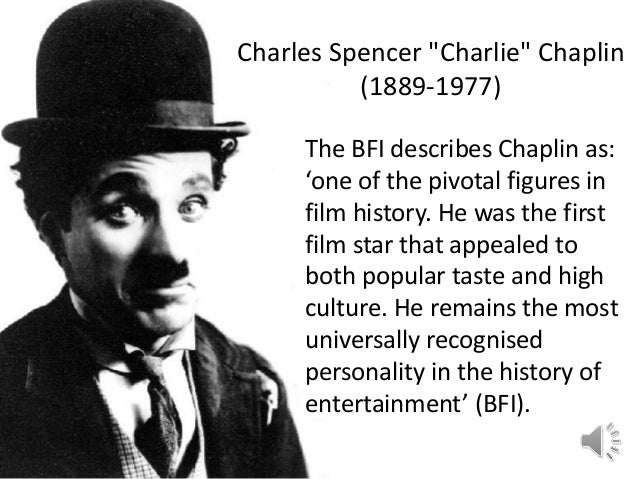 the film life and works of charlie chaplin Iconic actor charlie chaplin was known for his lovable tramp figure from vintage film footage through his work, chaplin came to be known as a grueling perfectionist nearing the end of his life, chaplin did make one last visit to the united states in 1972.