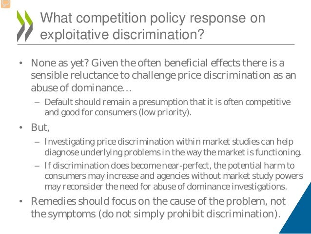 term paper price discrimination