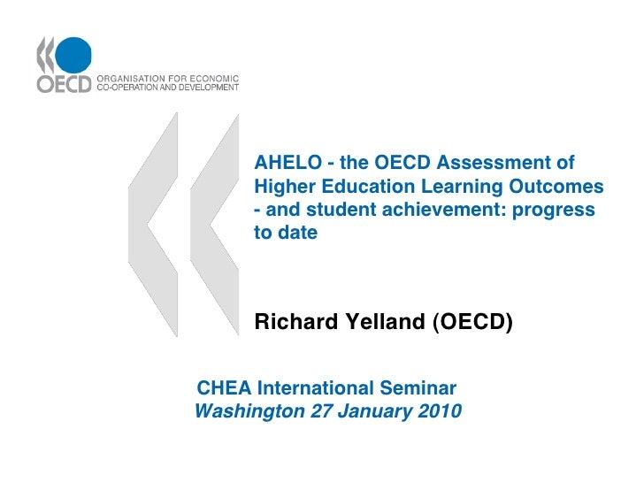 OECDaheloCHEA2010b
