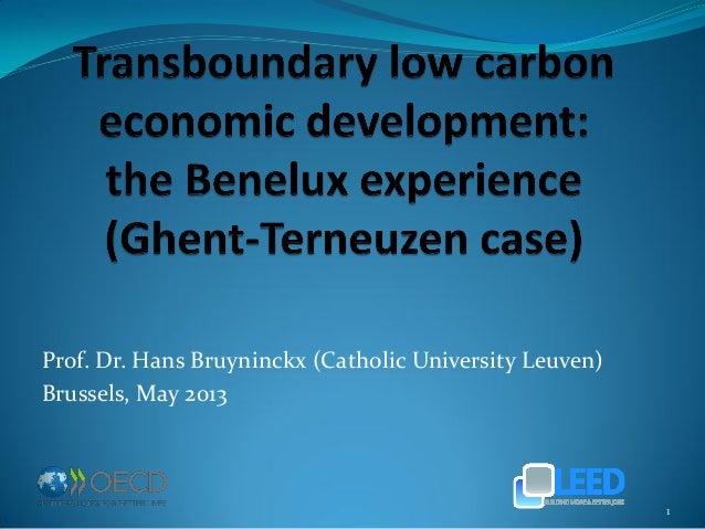 Prof. Dr. Hans Bruyninckx (Catholic University Leuven) Brussels, May 2013 1