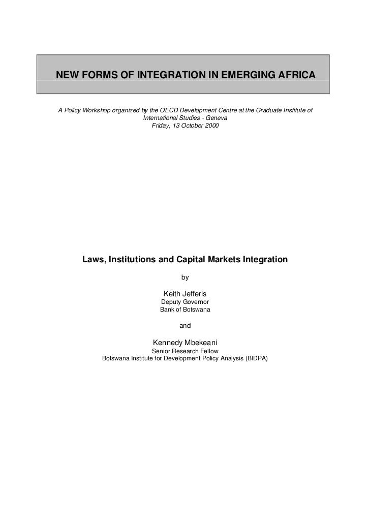 2002:Laws Institutions and Capital Market Integration