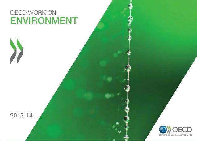 OECD WORK ON  Environment  2013-14