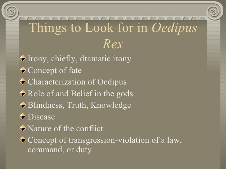 Short essay on oedipus the king sight and blindess