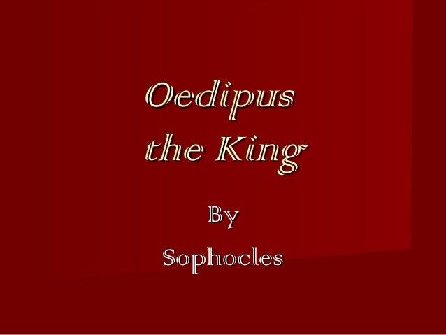 Oedipus intro