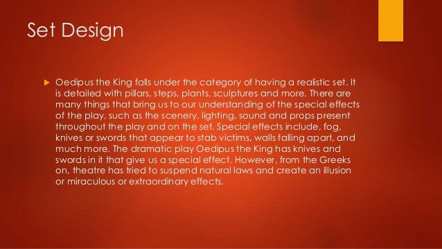 Oedipus the King topic?