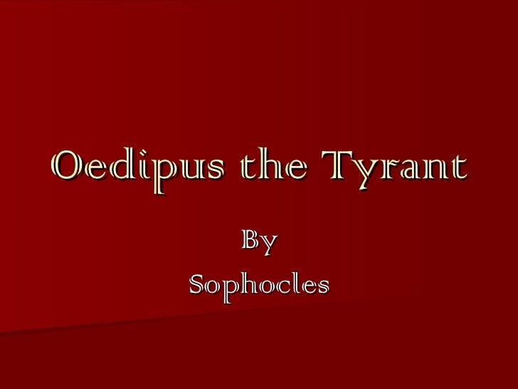 Oedipus the Tyrant