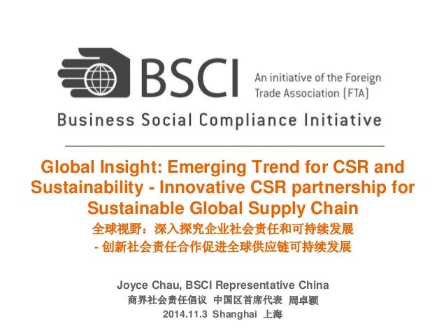 emerging trends in csr in india Corporate social responsibility in emerging markets: getting it right the first time  by naomi rosenthal the concept of corporate social responsibility (csr .