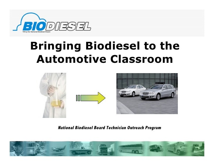 Biodiesel in the Classroom