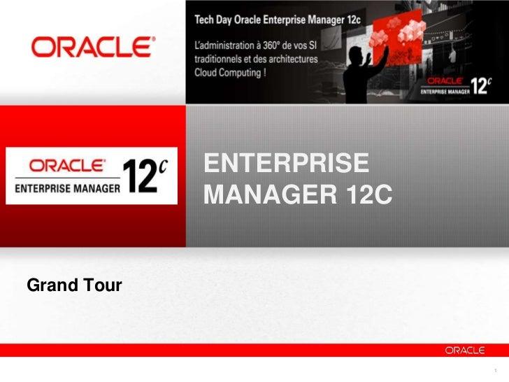 Enterprise Manager 12c - Demo - Overview