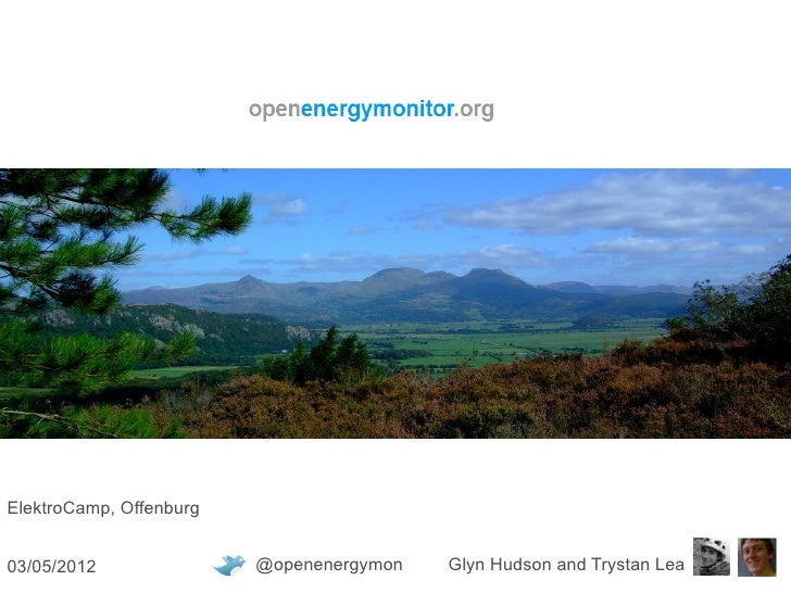 Elektro Camp, Offenburg - OpenEnergyMonitor Presentation