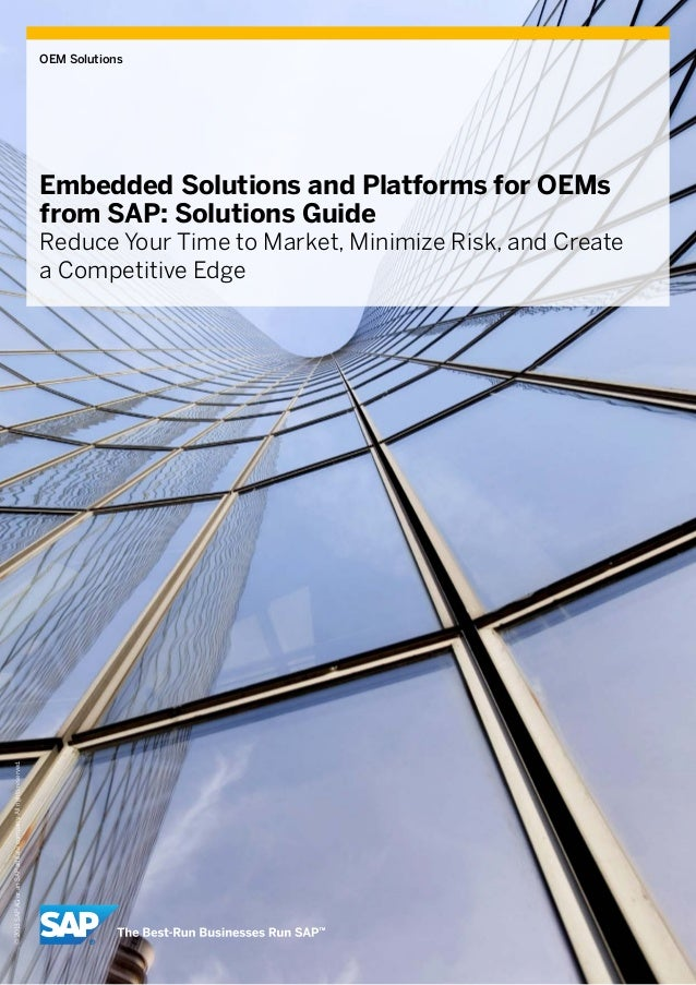 SAP OEM  Embedded Solutions Guide- March 2013