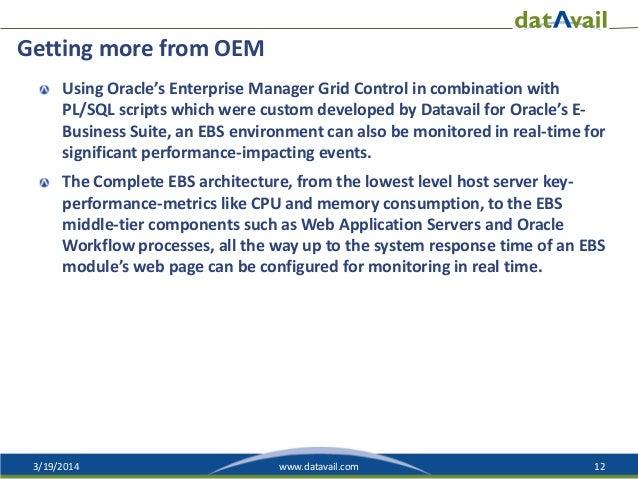 e Business Suite Oracle Enterprise Manager Oracle 39 s e Business Suite
