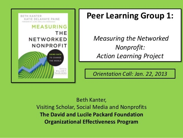 Packard Foundation OE Peer Learning Group