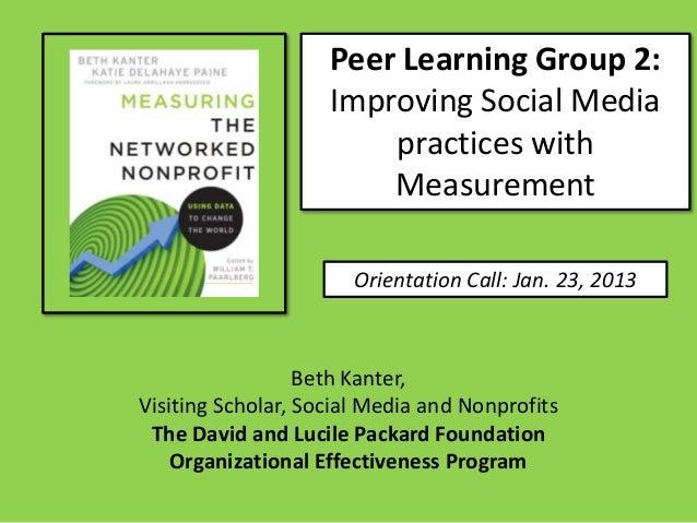 OE Peer Group 2 - Session 1 Orientation