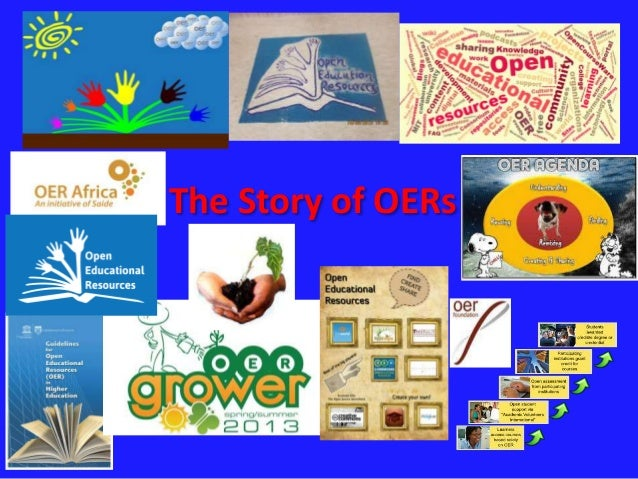 The Story of OERs