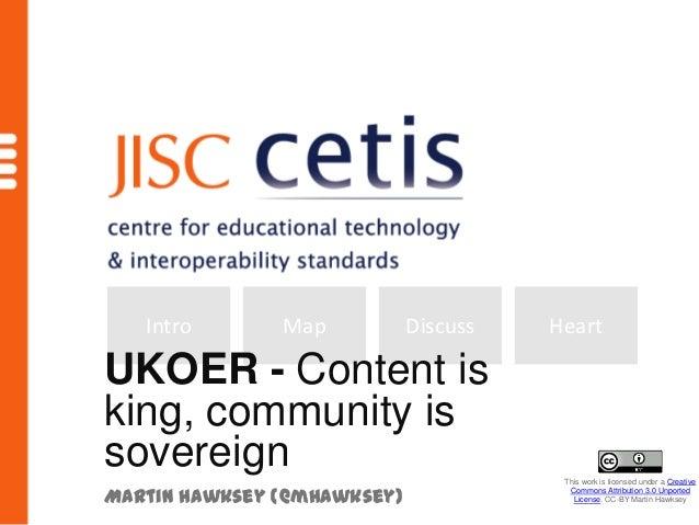 OER Community -  Visualising UKOER Activity