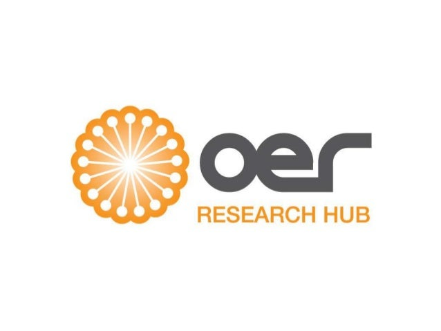 OER Research Hub overview