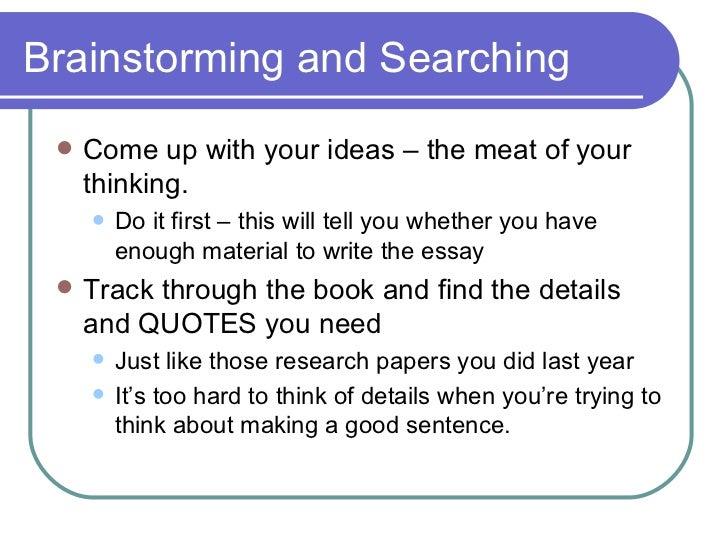 English essay science fiction