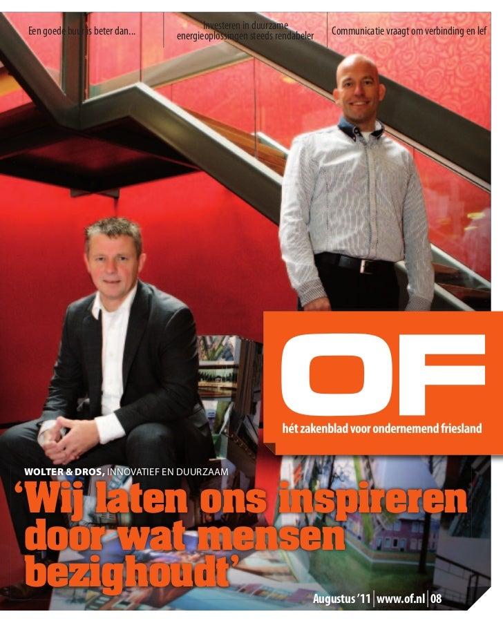 Ondernemend Friesland Cover