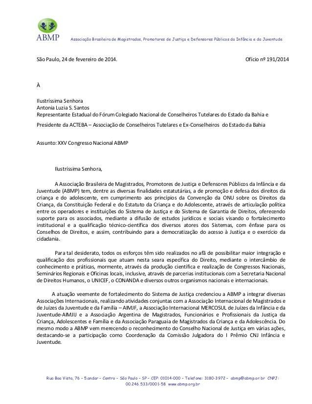 XXV Congresso Nacional ABMP