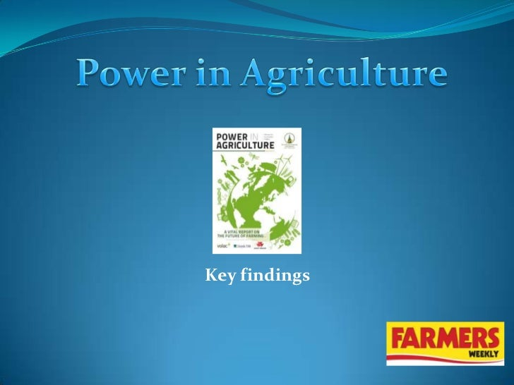 Oxford Farming Conference Report