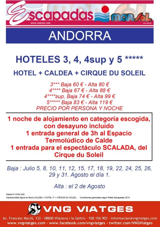OFERTA CALDEA + CIRQUE DU SOLEIL