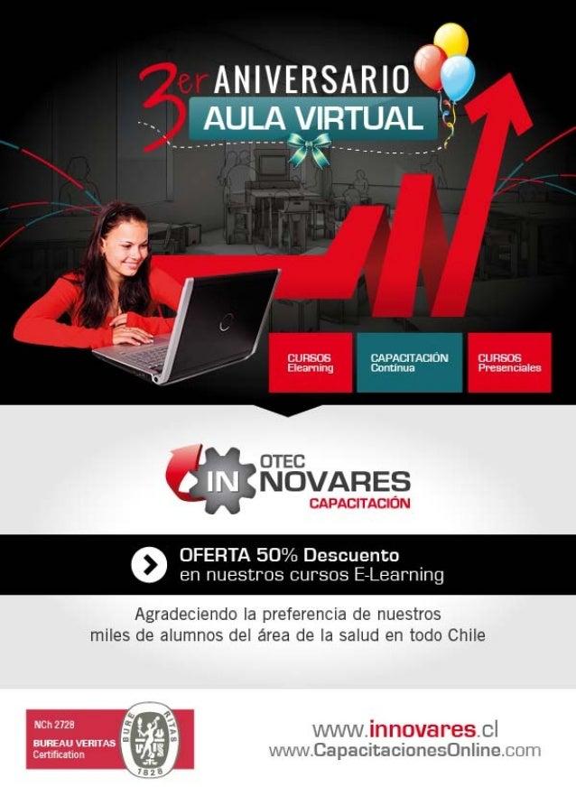 OFERTA 3er Aniversario del Aula Virtual: 50% Descuento Cursos E Learning