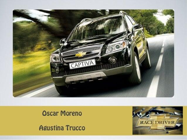Oscar MorenoAgustina Trucco