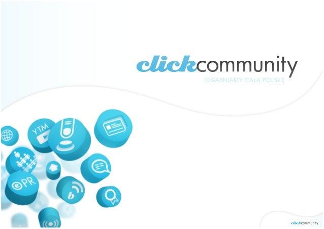 click community - mówimy językiem social media