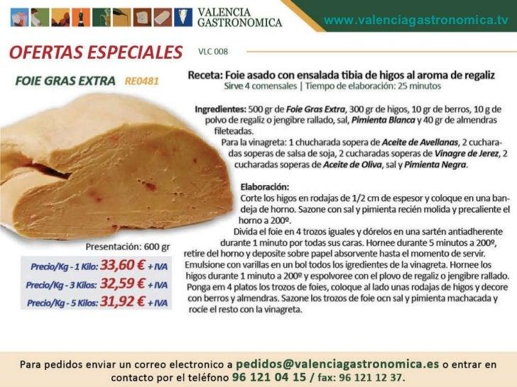 PRODUCTOS GOURMET DE ALTA CALIDAD PARA  COCINEROS ESTRELLA MICHELIN,VALENCIA GASTRONOMICA