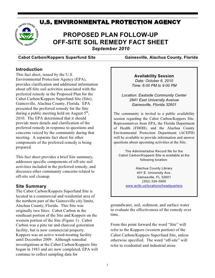 Off site koppers soil fact sheet 9-10_2010 - print ready