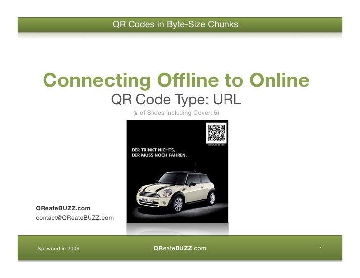 QR Code: Connecting Offline to Online