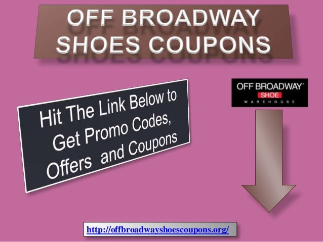 Off broadway shoes coupons