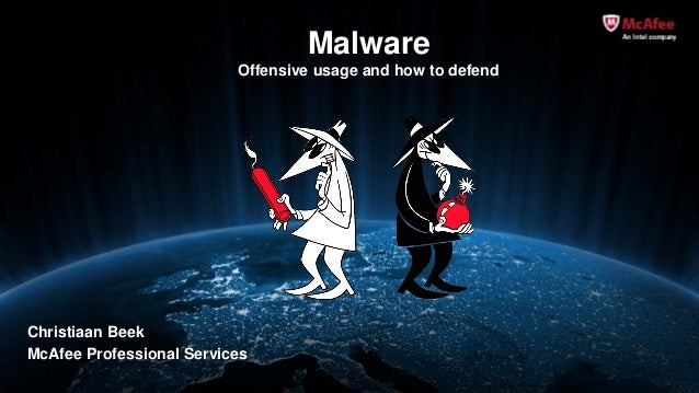 Offensive malware usage and defense