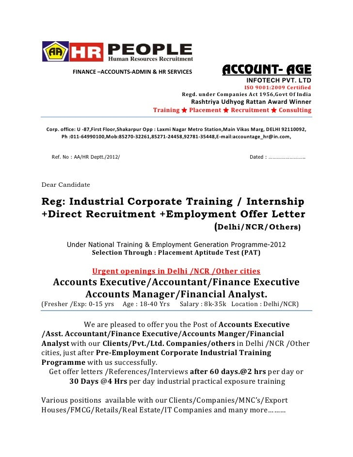 Appointment Letter Format Auditor Per Companies Act Auditor